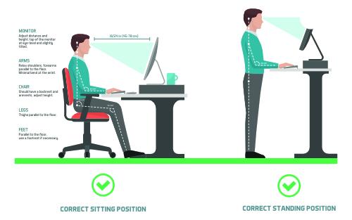 standing desk chiropractic