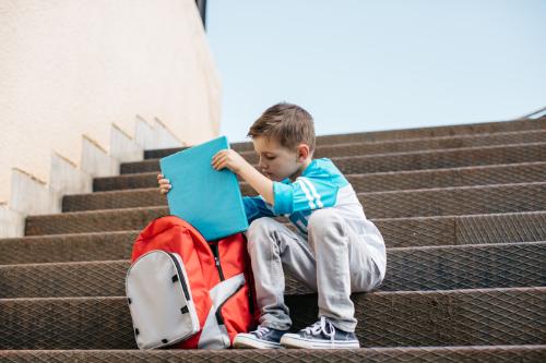 backpack safety tips back pain kids